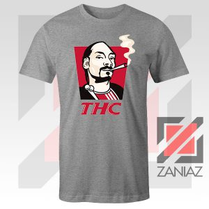 Snoop Dogg THC Smoke Vintage Sport Grey Tshirt