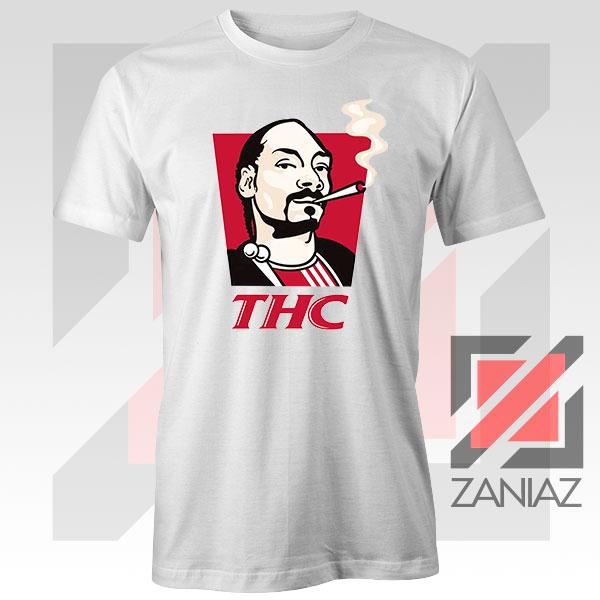 Snoop Dogg THC Smoke Vintage White Tshirt