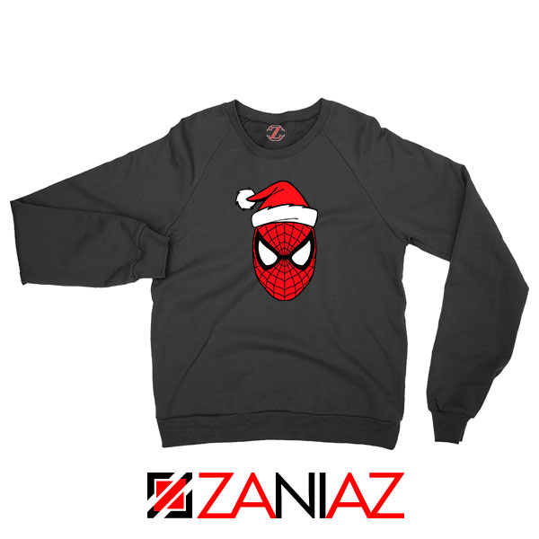 Spiderman Avenger Christmas Black Sweatshirt