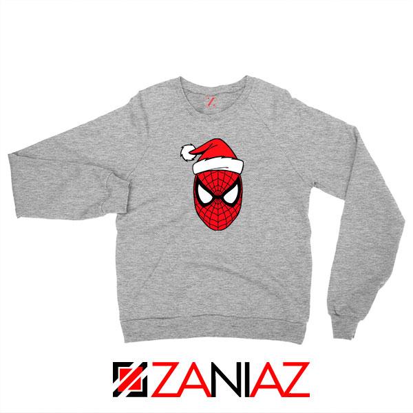 Spiderman Avenger Christmas Grey Sweatshirt