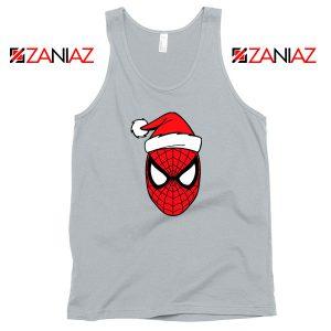 Spiderman Christmas Holiday Grey Tank Top