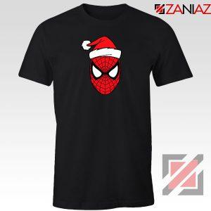 Spiderman Superhero Christmas Black Tshirt