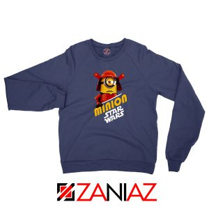 Star Wars Movies Minion Navy Blue Sweatshirt