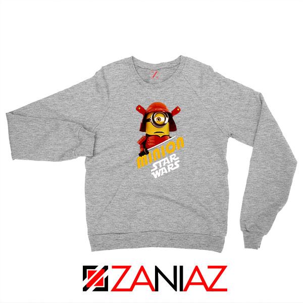 Star Wars Movies Minion Sport Grey Sweatshirt