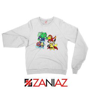 Superhero Pokemon The Avengers Sweatshirt