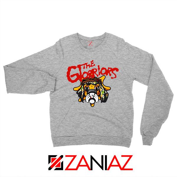 The Glorriors Glo Gang Graphic Grey Sweatshirt