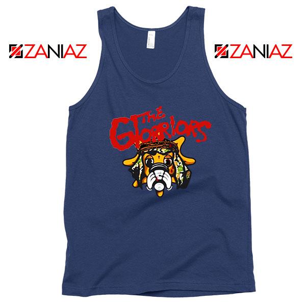 The Glorriors Glo Gang Graphic Navy Blue Tank Top