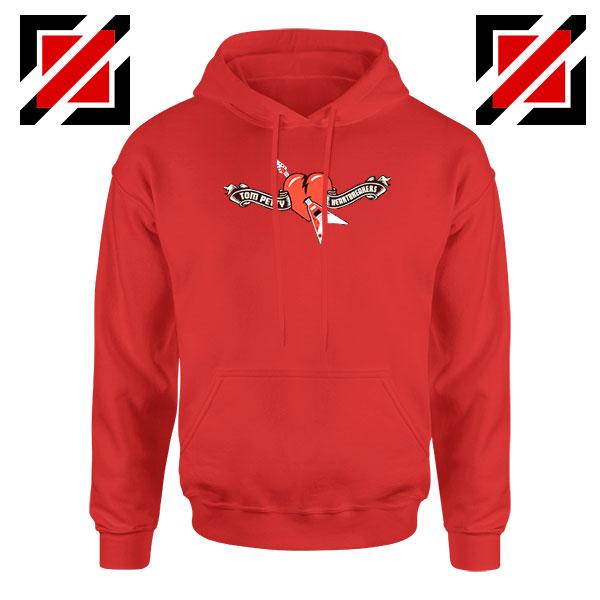 Tom Petty Heartbreakers Red Hoodie