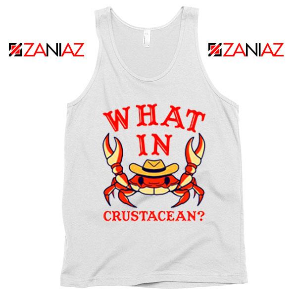 What In Crab Crustacean Graphic Tank Top