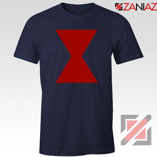 Widow Lightweight Funny Avengers Navy Blue Tshirt