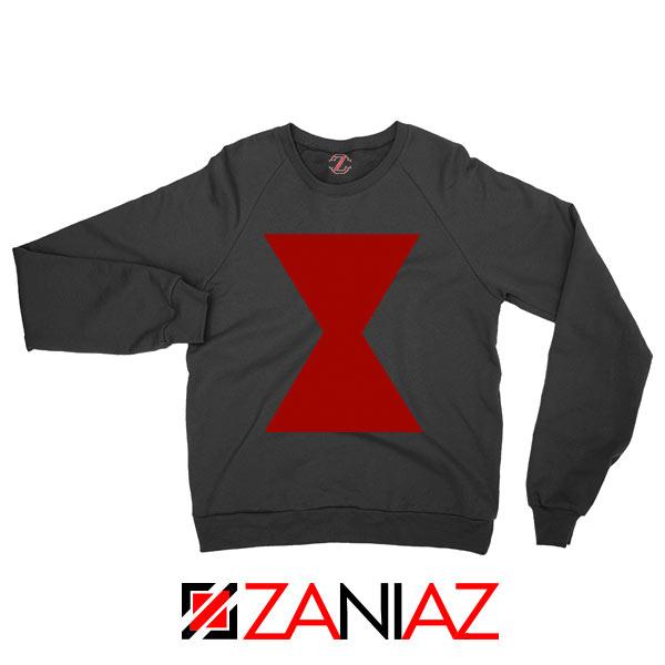 Widow Lightweight Logo Avengers Black Sweatshirt