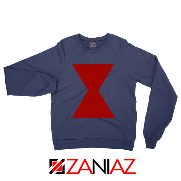 Widow Lightweight Logo Avengers Navy Blue Sweatshirt