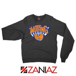 Wu Tang Basketball NY Knicks Black Sweatshirt