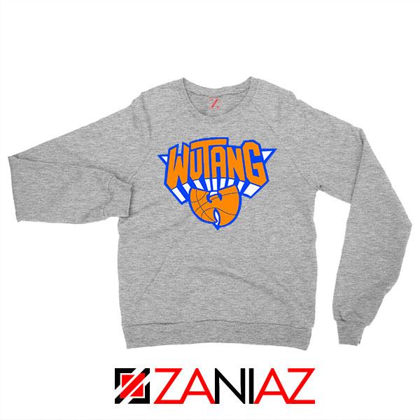 Wu Tang Basketball NY Knicks Grey Sweatshirt