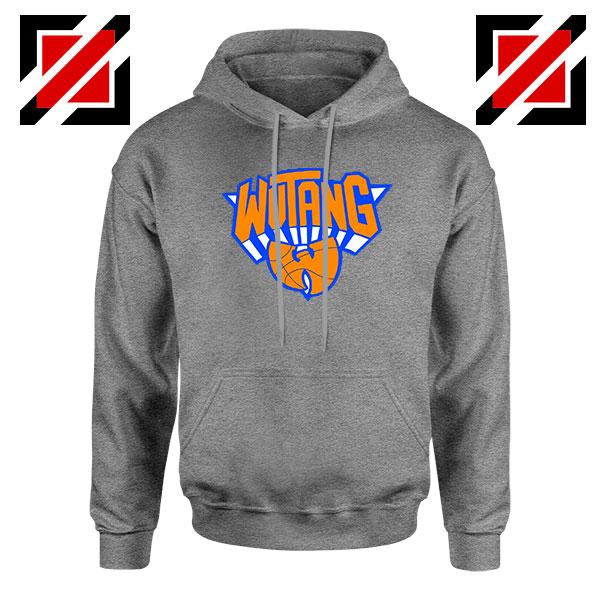 Wu Tang Clan Basketball NY Knicks Grey Hoodie