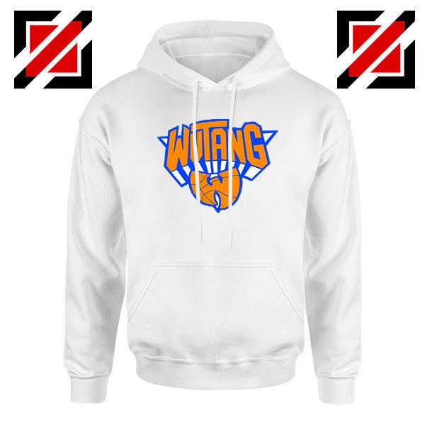 Wu Tang Clan Basketball NY Knicks White Hoodie