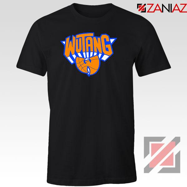 Wu Tang Clan NY Knicks Logo Black Tshirt