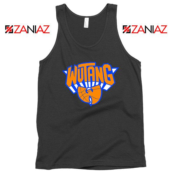 Wu Tang New York Knicks Logo Black Tank Top