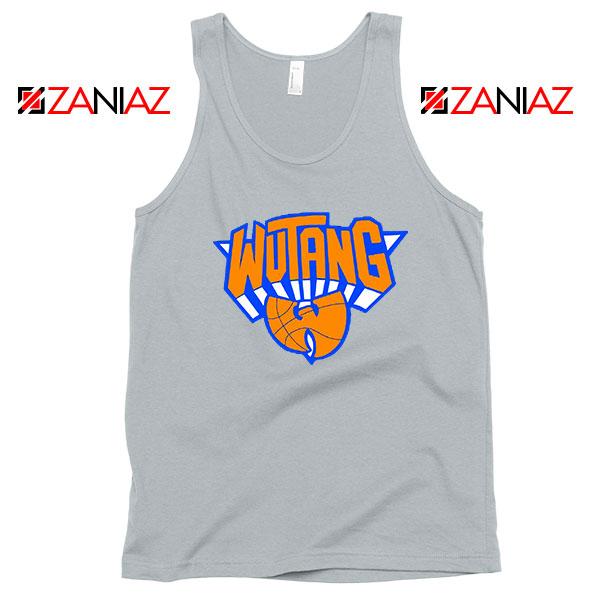 Wu Tang New York Knicks Logo Grey Tank Top
