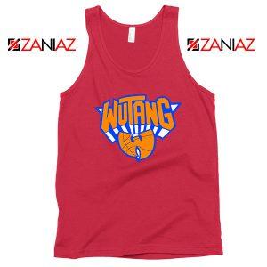 Wu Tang New York Knicks Logo Red Tank Top