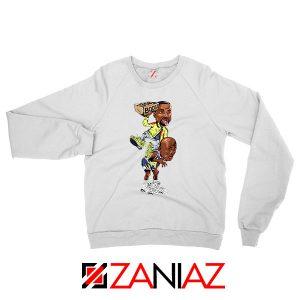 Yeezy Boost Over Jordan Graphic Sweatshirt