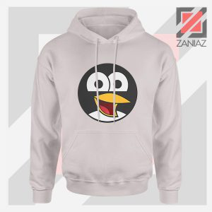 Angry Tux The Penguin Sport Grey Hoodie