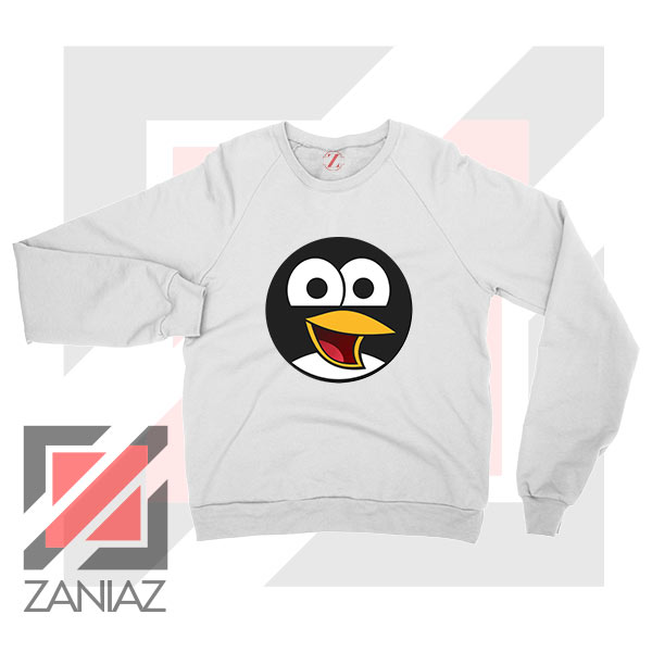 Angry Tux The Penguin Sweater