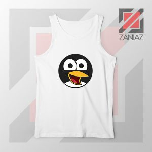 Angry Tux The Penguin Tank Top
