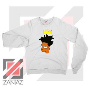 Bartsquiat Simpson 80s Artist Sweatshirt