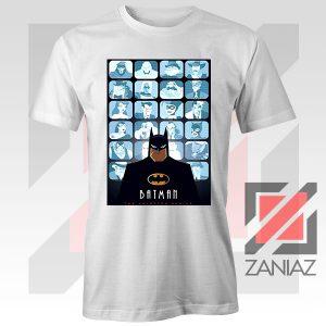 Batman Eyes On Gotham White Tshirt