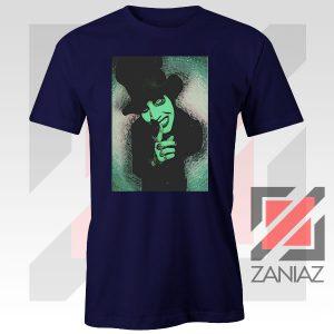 Best Marilyn Manson Graphic Navy Blue Tshirt