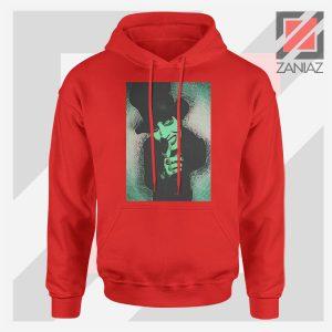Best Marilyn Manson Graphic Red Hoodie