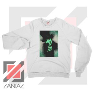 Best Marilyn Manson Graphic White Sweatshirt
