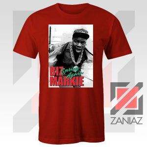 Biz Markie Spring Again Song Graphic Red Tee
