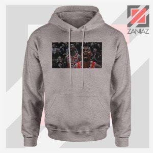 Bobby Portis Bull 5 Design Sport Grey Hoodie