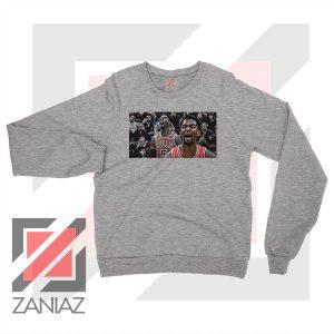 Bobby Portis Bull 5 Design Sport Grey Sweater