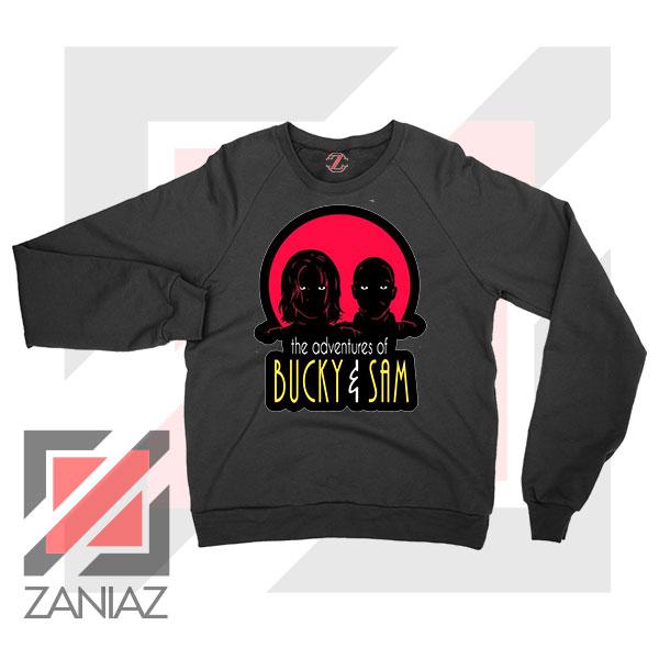 Bucky Falcon Adventures Black Sweatshirt
