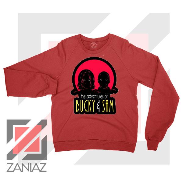 Bucky Falcon Adventures Red Sweatshirt
