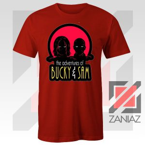 Bucky Falcon Adventures Red Tshirt
