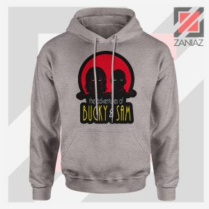 Bucky Falcon Adventures Sport Grey Hoodie