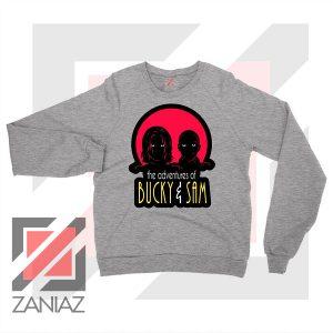 Bucky Falcon Adventures Sport Grey Sweatshirt