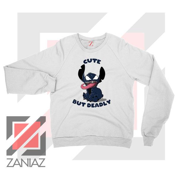 Cute Stitch Venom Deadly Graphic Sweater