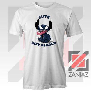 Cute Stitch Venom Deadly Graphic Tshirt