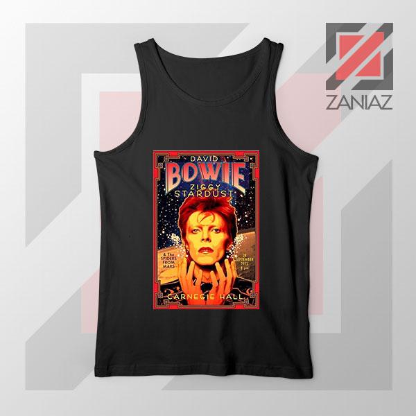 David Bowie Carnegie Halls Tank Top