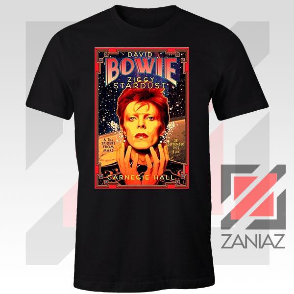 David Bowie Carnegie Halls Tshirt