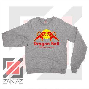 Dragon Ball Red Bull Logo Best Grey Sweatshirt
