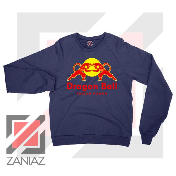 Dragon Ball Red Bull Logo Best Navy Blue Sweatshirt