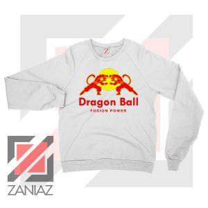 Dragon Ball Red Bull Logo Best White Sweatshirt