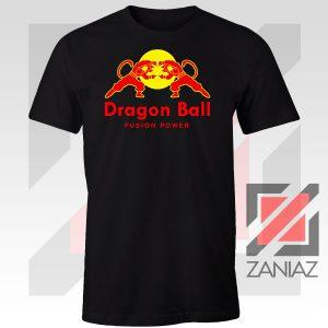 Dragon Ball Red Bull Logo Fusion Power Tee