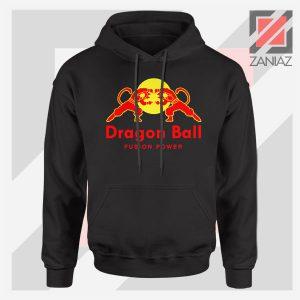 Dragon Ball Red Bull Logo Graphic Hoodie